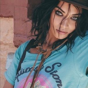 """Turquoise Stone, """" Spell and the Gypsy """" Rare Tee"""